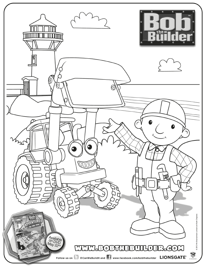 Inspired by Savannah BOB THE BUILDER ADVENTURES BY THE SEA