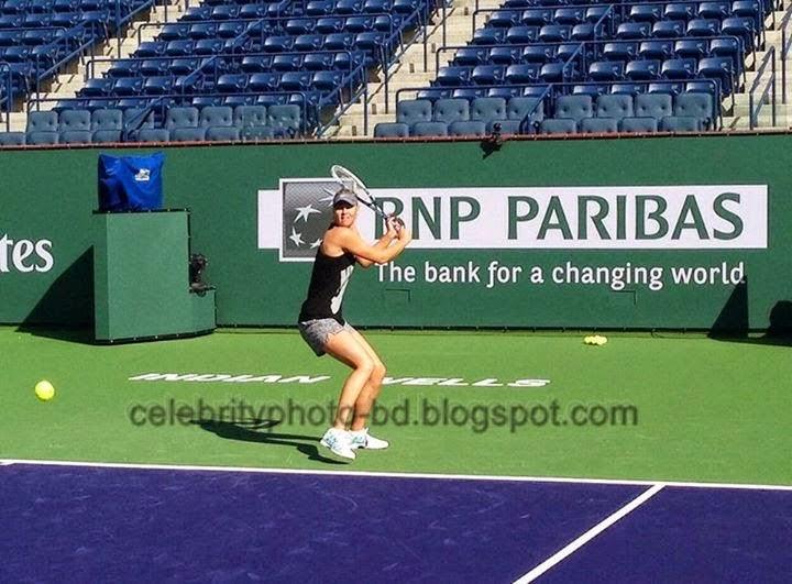 Hot Tennis Girl Maria Sharapova's Latest Unseen Photos Collection 2014