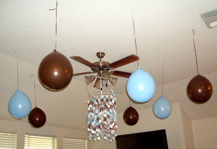 My Creative Way: Brown and Blue Baby Shower Ideas. Modern Baby Boy