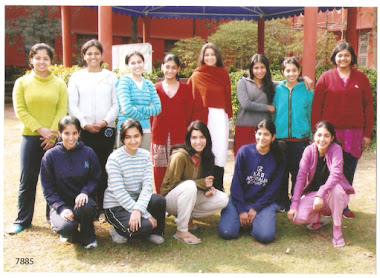 YOGA WORKSHOP, LADY SHRIRAM COLLEGE, NEW DELHI