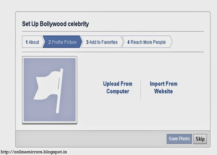 how to start a new facebook page