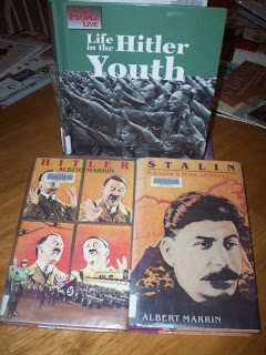 Hitler and Stalin - part of this week's selected reading