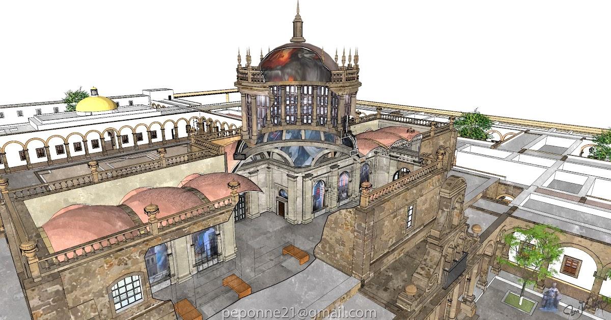 AlarifeDigital: Corte transversal de la Capilla Mayor del ...