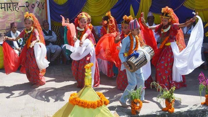 Phulpati or Fulpati celebration 2014 in Mungpoo  - 2