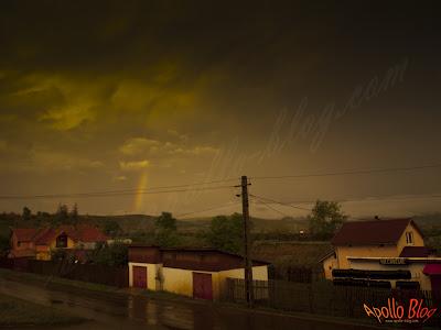Curcubeu noaptea