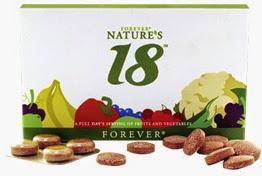 Forever Natures 18 bổ sung 18 loại rau củ quả Mã số : 271