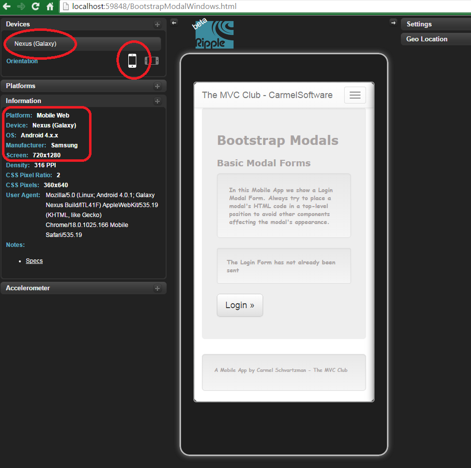 Bootstrap Tutorial Lesson 6 - Responsive Modal Windows 1