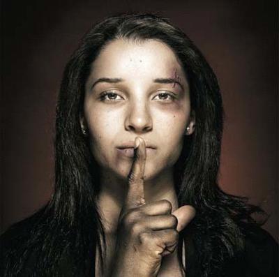 imagen mujer+golpeada+violencia genero
