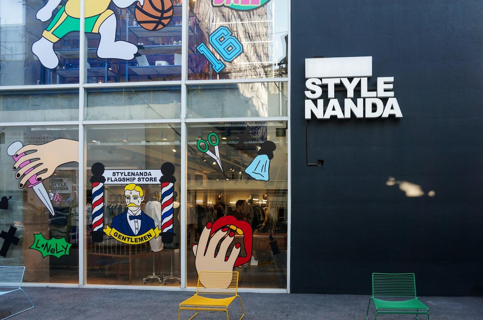 Stylenanda flagship store hongdae address