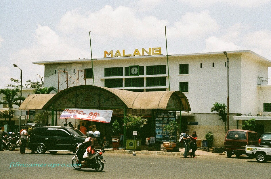 Malang Train Station