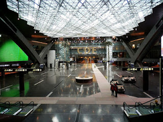 A look inside Hamad International Airport in Doha