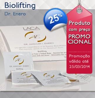 Promoção Biolifting LacaShopping! -25%