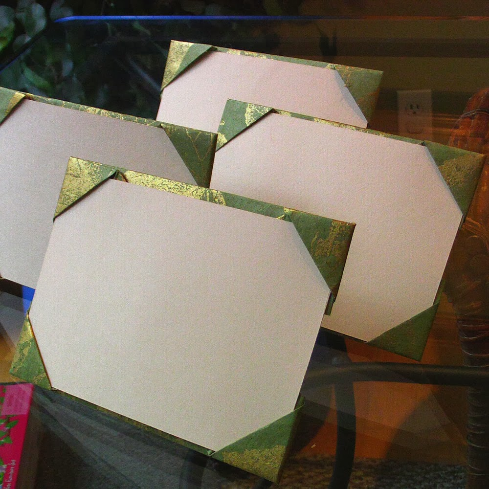 Candy New Gold Leaf Origami Frame
