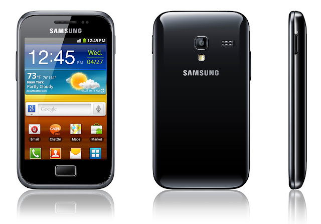 samsung Galaxy Ace plus s7500 black