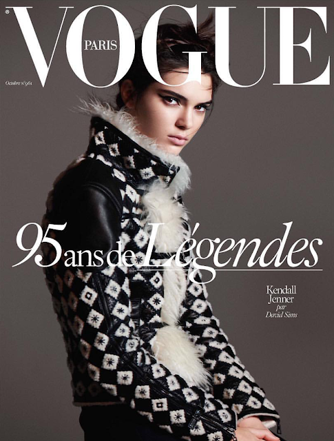 Broadcasters, Fashion Model @ Kendall Jenner - David Sims for Vogue Paris October 2015