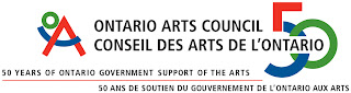 I gratefully ackowlege assistsnce from the Ontario Arts Council