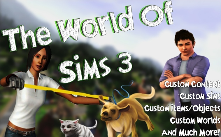 The World Of Sims 3