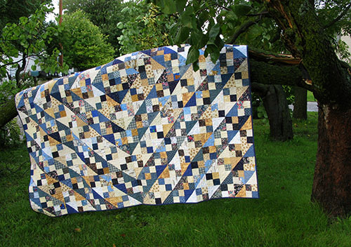 Blue Ridge quilt at Freemotion by the River