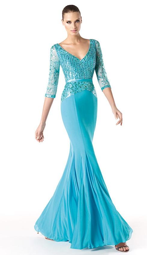 вечерние платье 2014 фото