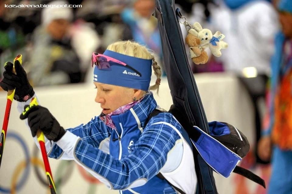 Кайса Мякяряйнен на Олимпиаде в Сочи 2014