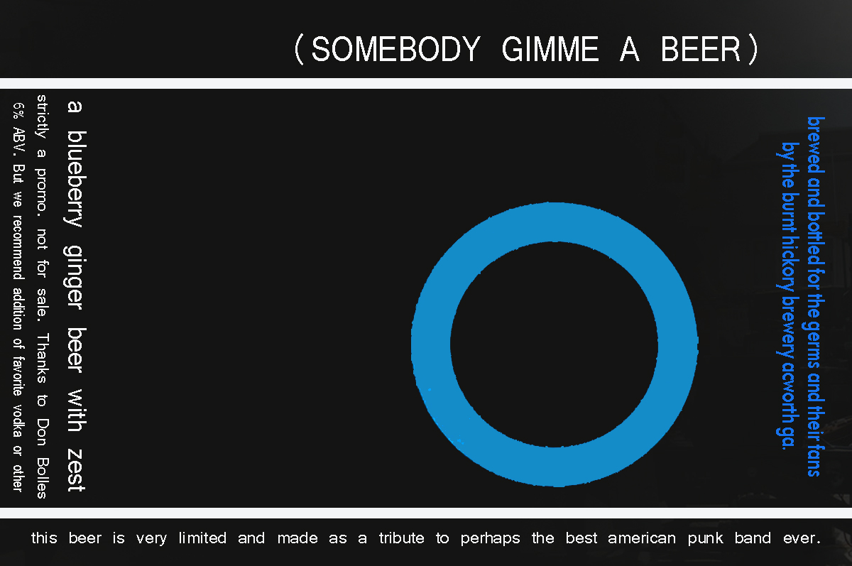 The germs beer almost ready