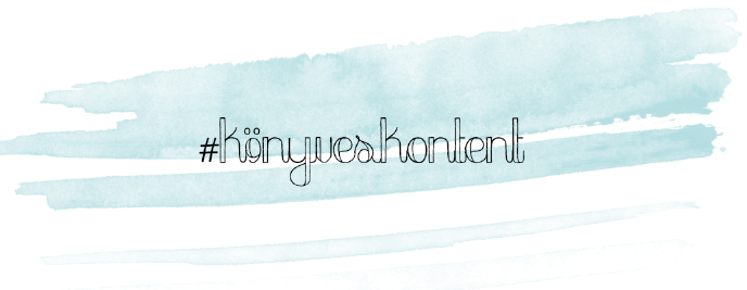 könyveskontent - könyvesblog
