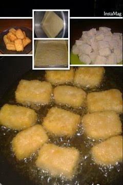 Resep Cara Membuat Nugget Tahu Wortel Campur Daging Ayam