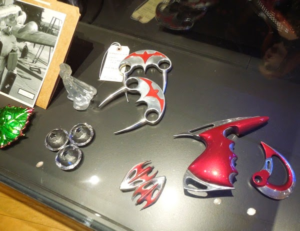 Screen-used Batman and Robin movie props