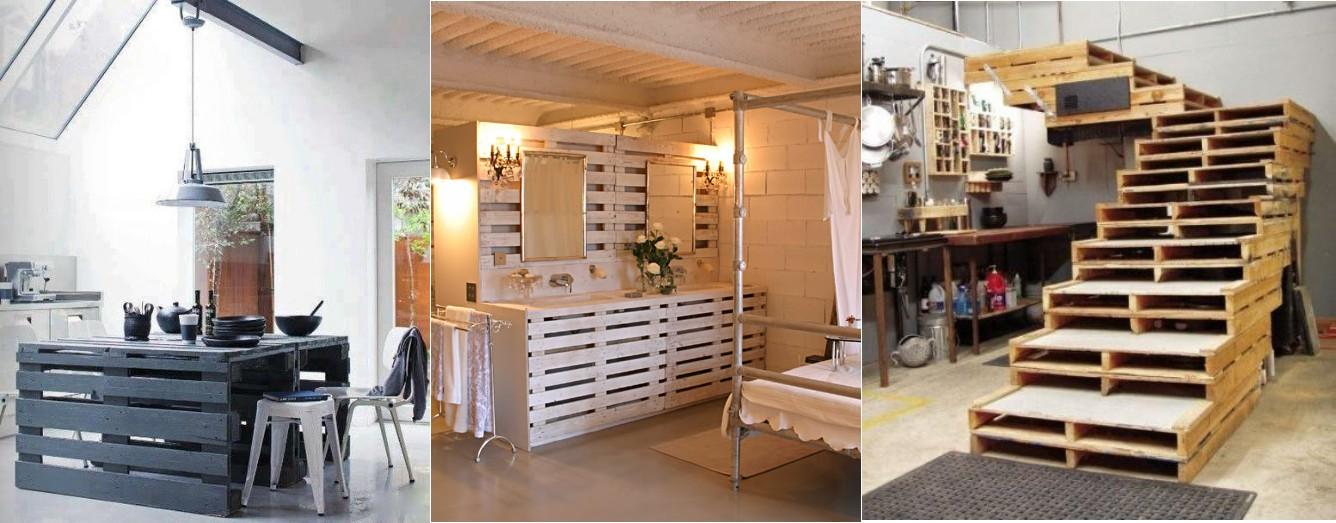 Not for boring decorando con palets y cajas de madera - Dormitorios reciclados ...