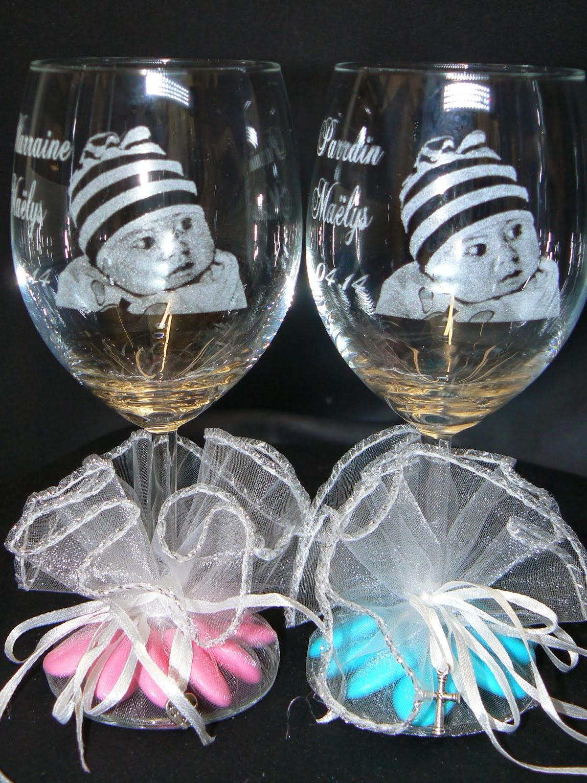 verre vin grav le plus beau cadeau pour marraine parrain maman papa mamie papy et vos invits utilisez la gravure portrait sur verre effet garanti - Gravure Sur Verre Mariage Bapteme
