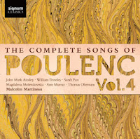 The complete songs of Poulenc - volume 4