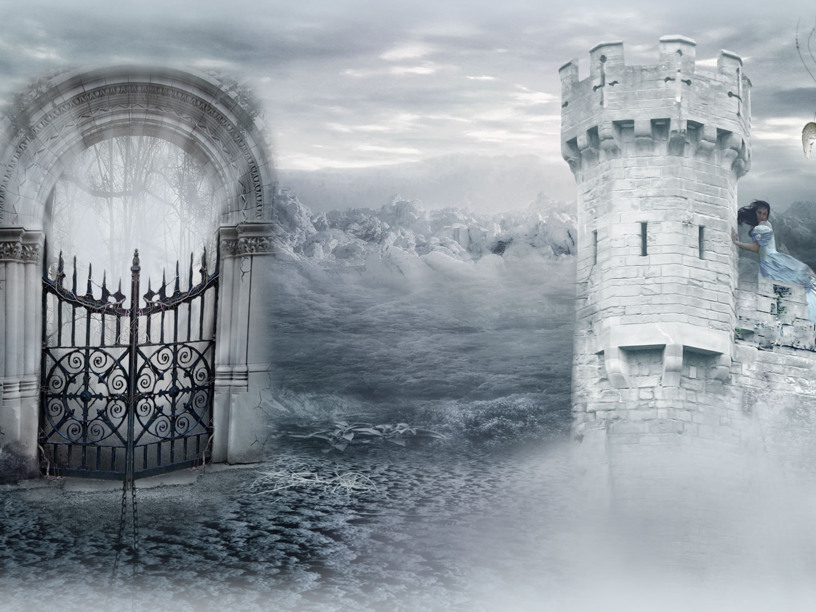 heaven gate wallpaper -#main