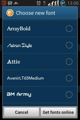 FullFont.apk ~ Font Terlengkap Untuk Android
