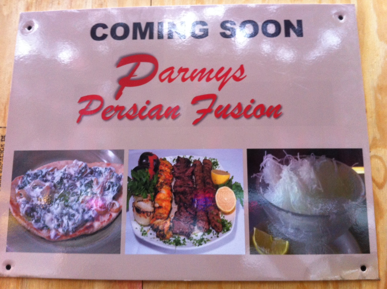 Ev grieve parmys persian fusion coming soon to first avenue the restaurant has applied for a liquor license they appear on this months cb3sla agenda you can read more about the plans on the application pdf forumfinder Choice Image
