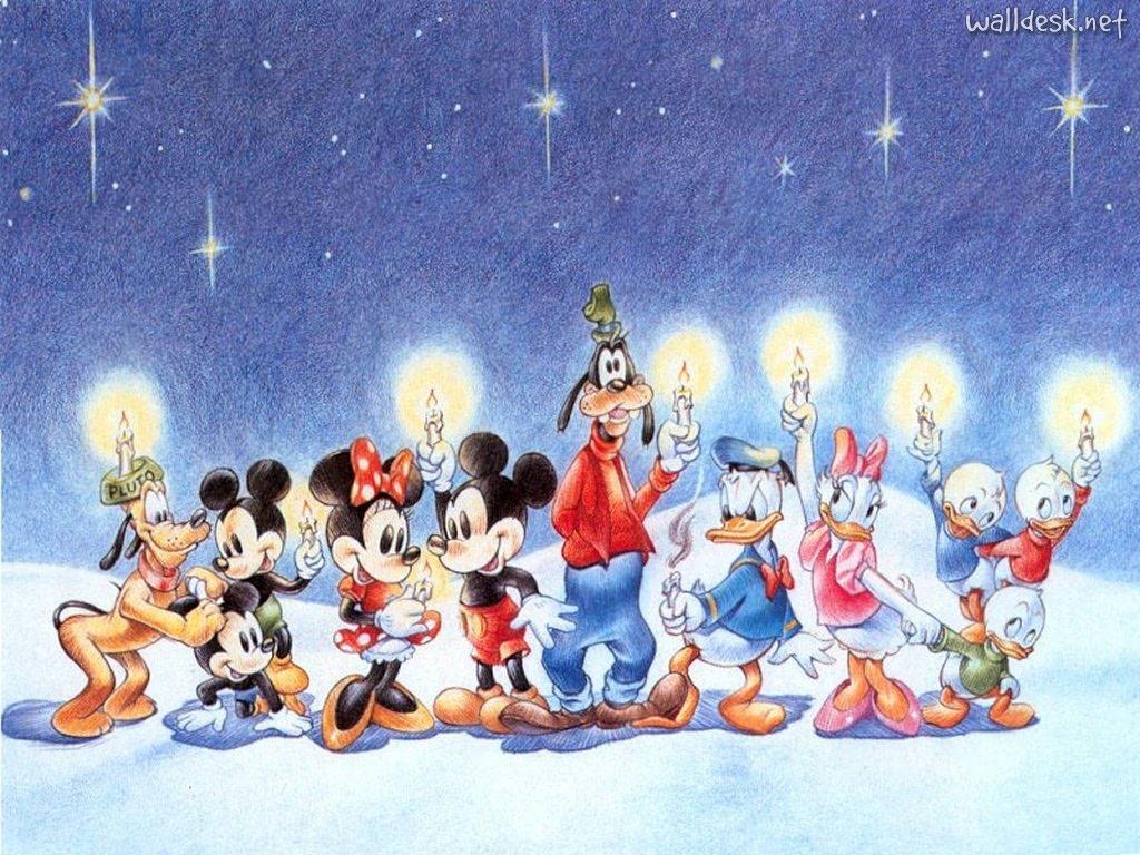 Merry Christmas Disney Characters