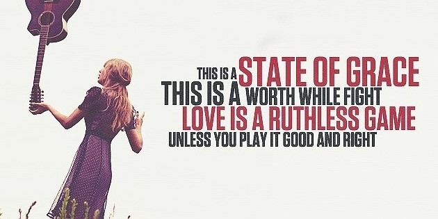 Taylor Swift - State of Grace Lyrics