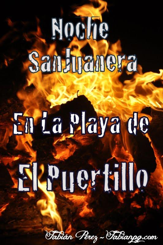 Noche SanJuanera en la Playa de El Puertillo