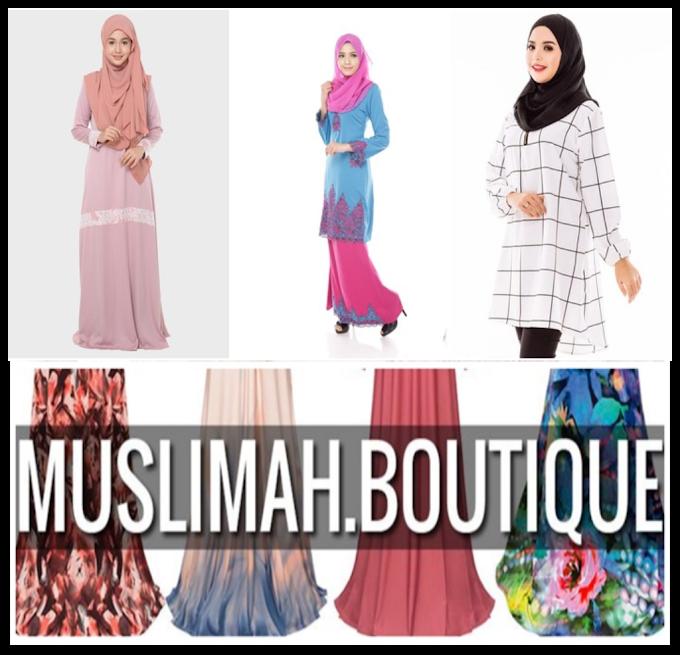 Membeli Belah di Butik Muslimah Online!