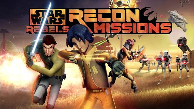 Star Wars Rebels: Missions v1.2.0 Apk + Datos SD Mod [Dinero ilimitado / Desbloqueado]