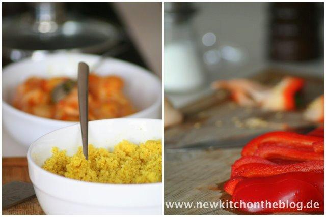 Orangen-Couscous-Salat
