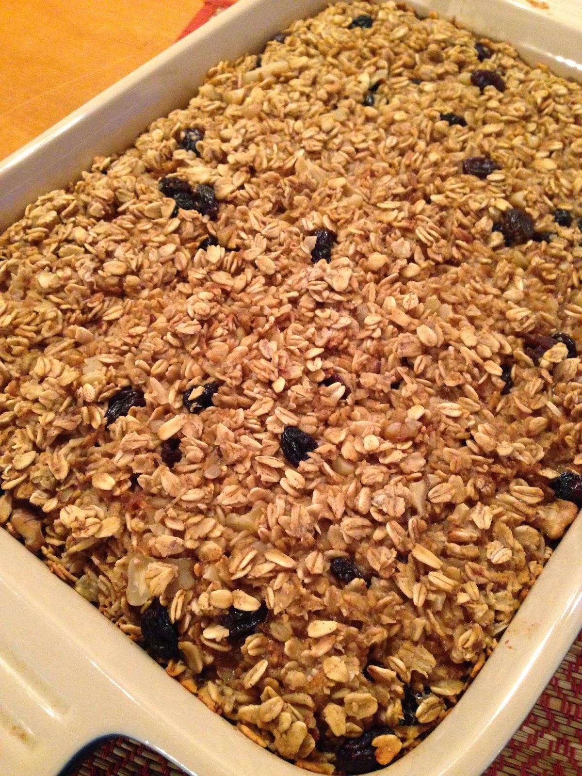 Baked Oatmeal | katesfoodfortheweek.blogspot.com