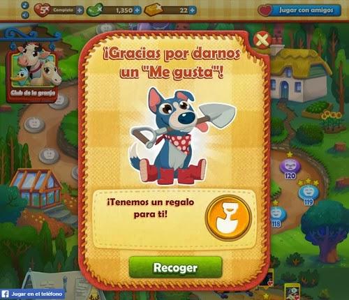 Booster de pala gratis para Farm Heroes Saga