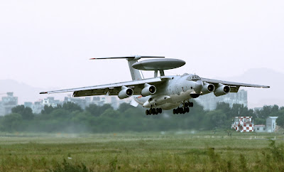 Chinese KJ-2000 AWACS Aircraft From Inside