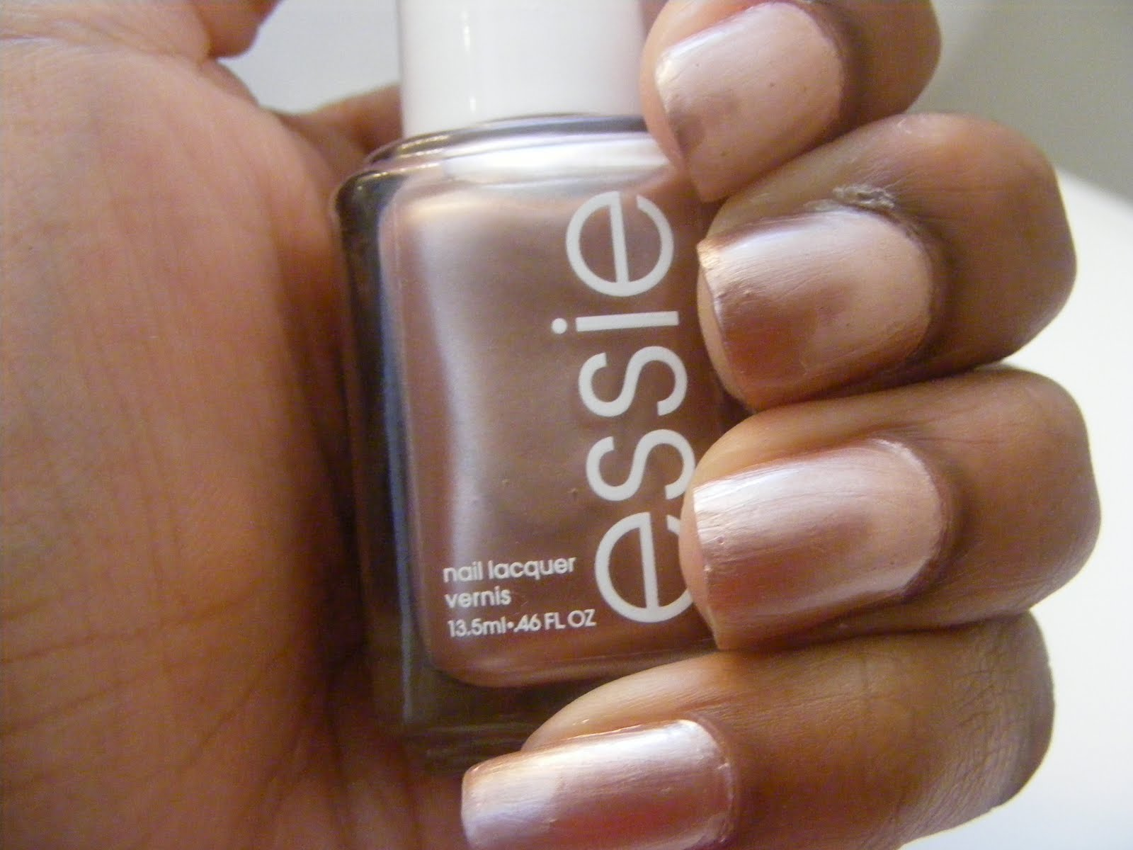 I Love Essie Nail Colors This Is The One That Am Rocking For Week It Me A Cameo Which Frosted Pearly Pink On My Nails