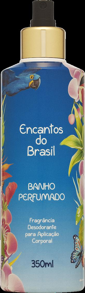 BANHO PERFUMADO ENCANTOS DO BRASIL