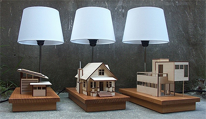 Lauren Daley, A San Francisco Bay Area Architect Is The Creator Of My New  Wish List Item, The House Lamp. She Started Creating The House Lamps To  Combine A ...
