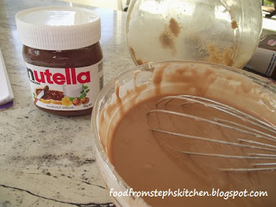 Nutella pancake mixture - Steph's Kitchen