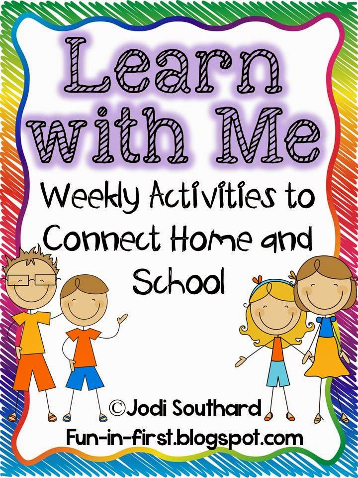 http://www.teacherspayteachers.com/Product/Learn-With-Me-Weekly-Activities-to-Connect-Home-and-School-779606