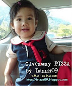 Giveaway Pizza : By Imaan09