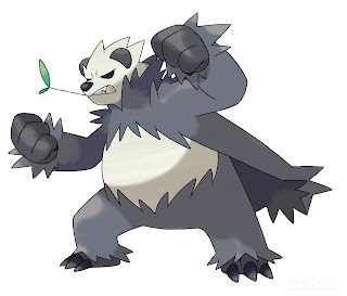 Pangoro Pokemon X Pokemon Y